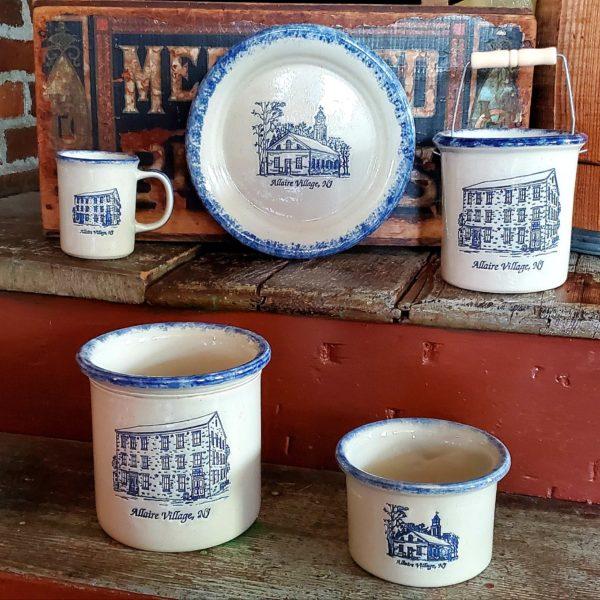 Bujno Collectible Allaire Village Pottery